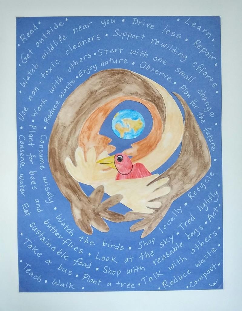 """Nurture""  For Moab Arts and Recreation Center, Moab, Utah September 2021"